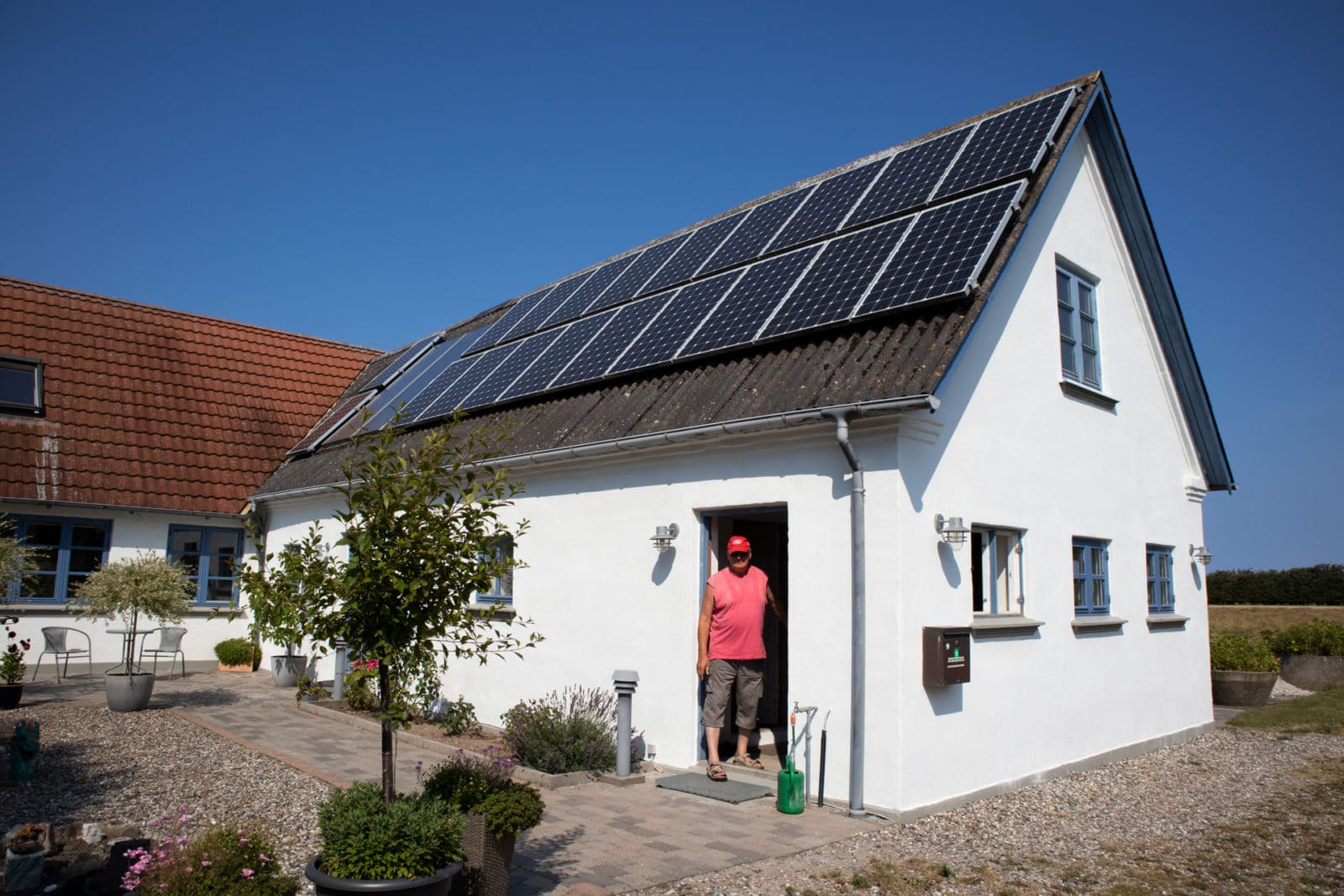 Solceller på huset