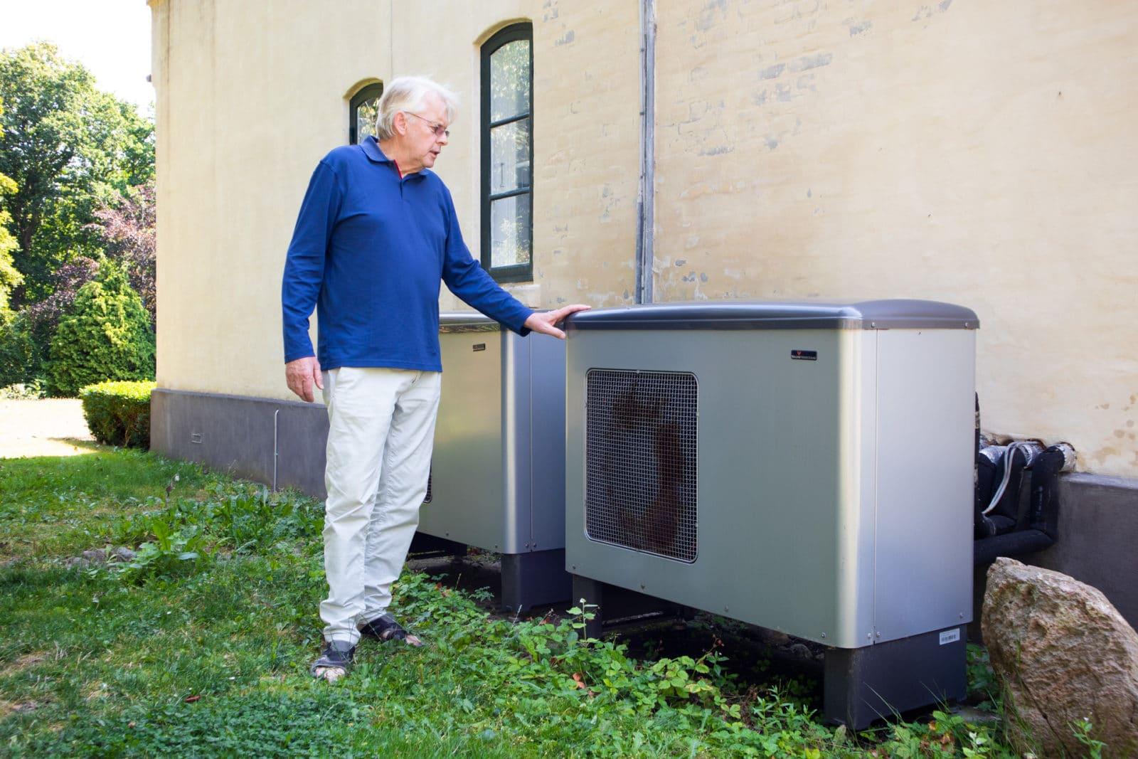 Jesper fortæller om sine effektive varmepumper