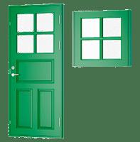 Vinduer & døre